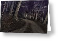 What Lies Lurking Greeting Card