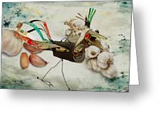What Nature Delivers - Those Are Not My Eggs  Greeting Card by Yvon van der Wijk