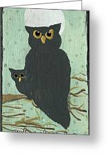 What The Who? Owls  Greeting Card