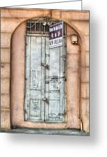 What To See And Do In New Orleans Greeting Card by Brenda Bryant
