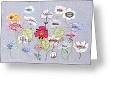 What's In A Flower Greeting Card