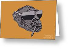 Whatssup Dawg Gold Greeting Card