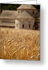 Wheat At The Abbaye Greeting Card