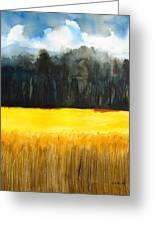 Wheat Field 1 Greeting Card