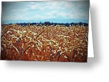 Wheat Reeds Greeting Card