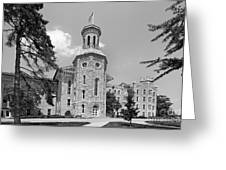 Wheaton College Blanchard Hall Greeting Card by University Icons