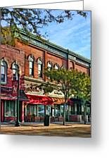 Wheaton Front Street Stores Greeting Card