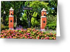 Wheaton Memorial Park Greeting Card