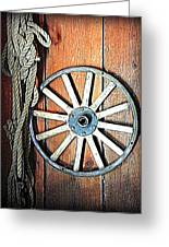 Wheel An Rope Greeting Card