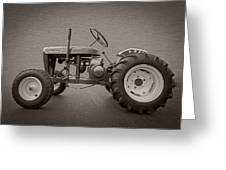 Wheel Horse Vintage Greeting Card