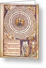 Wheel Of Sevens Greeting Card