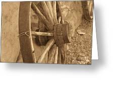 Wheel Of Time II Greeting Card