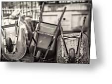 Wheelbarrows  Greeting Card