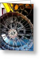 Wheels Greeting Card