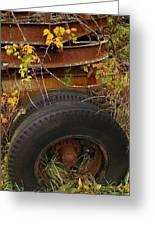 Wheels Of Autumn Greeting Card