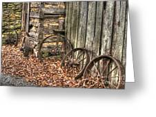 Wheels Of Time Two Greeting Card