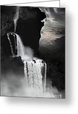 When Darkness Falls Greeting Card
