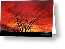 When Morning Guilds The Skies Greeting Card