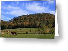 When The Cows Come Home-alabama Greeting Card