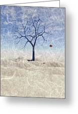 When The Last Leaf Falls... Greeting Card by John Edwards