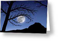 When The Moon Hits Your Eye Greeting Card