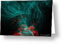 When The Smoke Clears They Bloom Greeting Card