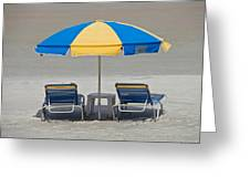 Where Are All The Beach Bums? Greeting Card
