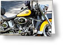 Where Do You Hang A Harley Cap Greeting Card