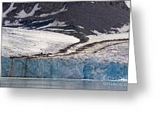 Where Glaciers Meet Greeting Card