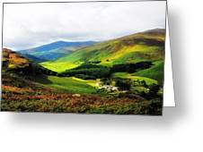 Where Is Soul Flying. Wicklow Mountains. Ireland Greeting Card