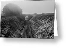 Where Is Steam Train Greeting Card