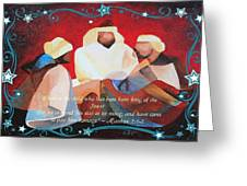 Where Is The Child Who Has Been Born King Of The Jews Greeting Card
