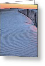 Where The Boardwalk Ends Greeting Card