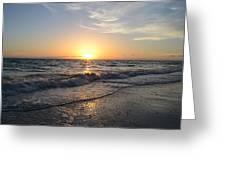 Where The Sun Sets Greeting Card