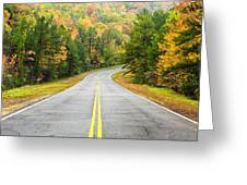 Where This Road Will Take You - Talimena Scenic Highway - Oklahoma - Arkansas Greeting Card