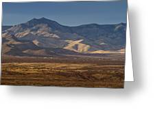 Whetstone Mountains At Sunset Greeting Card