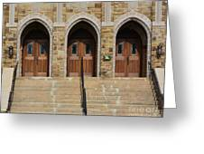 Which Door Will You Choose Greeting Card