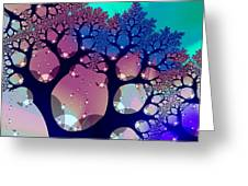 Whimsical Forest Greeting Card