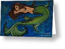Whimsical Mermaid Greeting Card