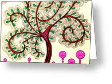 Whimsy Tree Greeting Card
