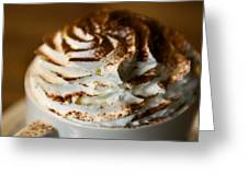 Whipped Cream Greeting Card