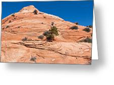 Whipped Rock Greeting Card