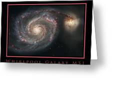 Whirlpool Galaxy M51 Greeting Card