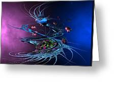 Whirlwind - Abstract Greeting Card