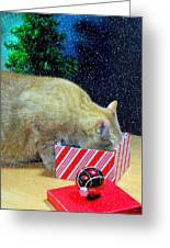 Whiskey's Present Greeting Card