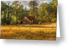 Whiskeytown Barn Greeting Card