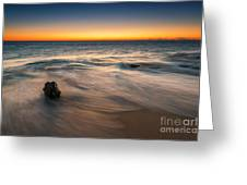 Whisper Of The Waves  Greeting Card