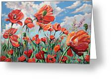 Whispering Poppies Greeting Card