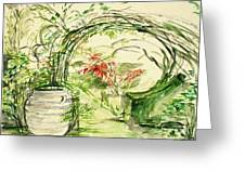 Whispers Of The Soft Wind Greeting Card