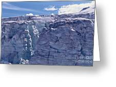 Whistler Glaciers Sc125-05 Greeting Card